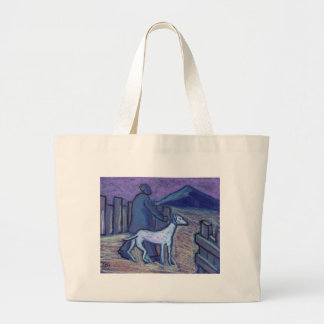 ONE MAN AND HIS DOG TOTE BAG