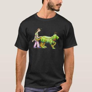 one man and his dogerpillar-dark copy T-Shirt