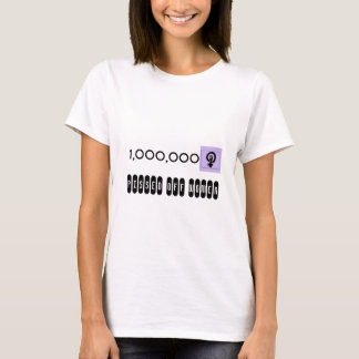 One Million T-Shirt