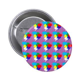 One MIND multiple THOUGHTS NVN184 NavinJOSHI FUN 6 Cm Round Badge