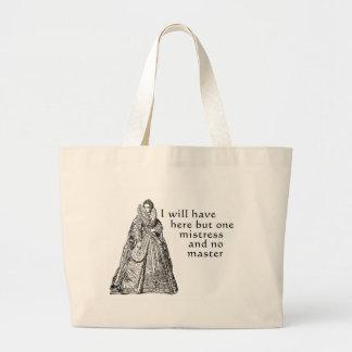 One Mistress Here Jumbo Tote Bag