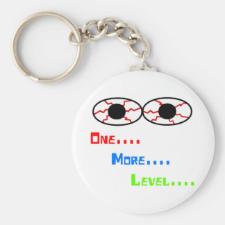 One... More... Level... - Bloodshot Eyes Key Ring