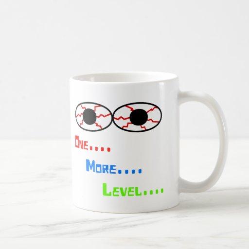 One... More... Level... - Bloodshot Eyes Mug