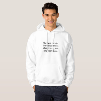 One more time hoodie