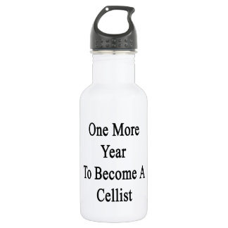 One More Year To Become A Cellist 532 Ml Water Bottle