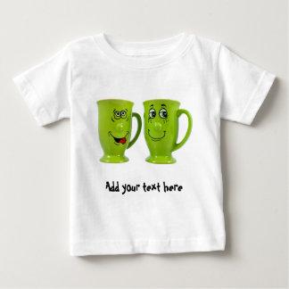 One mug says to another mug... tie shirts