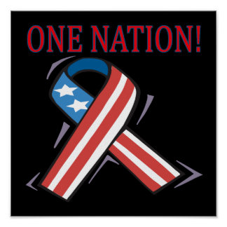 One Nation Poster
