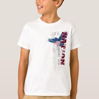 One Nation Under God Grunge Kid's T-Shirt
