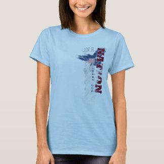 One Nation Under God Grunge Women's T-Shirt