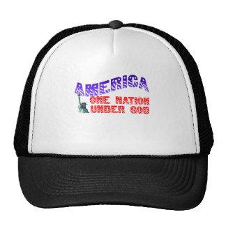 One Nation Under God Mesh Hat
