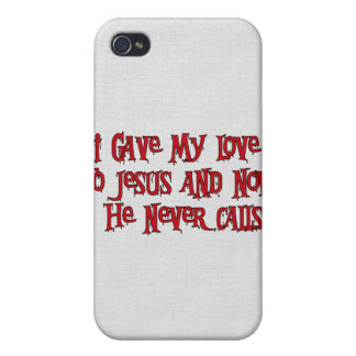 One Night Stand Jesus Cases For iPhone 4