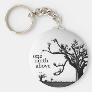 One Ninth Above keychain