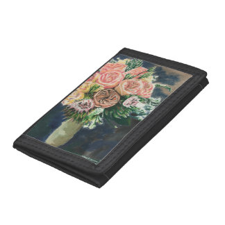 One of a Kind Floral Bouquet Wallet