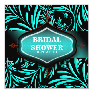 One of a Kind Floral Bridal Shower Invitation