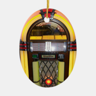 One of a kind jukebox ornament