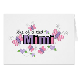 One Of A Kind Mimi Card