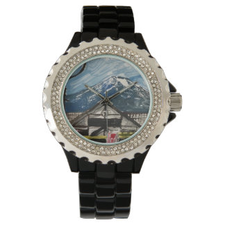 One of a Kind Mount Fuji Japan Watch