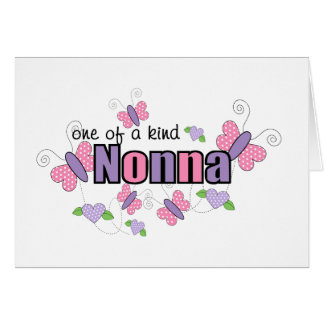 One Of A Kind Nonna Card