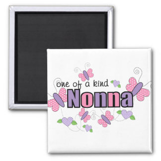 One Of A Kind Nonna Square Magnet