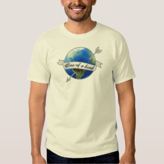 One of a Kind - Planet Earth Tee Shirt