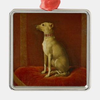 One of Frederick II's Italian greyhounds Christmas Ornament