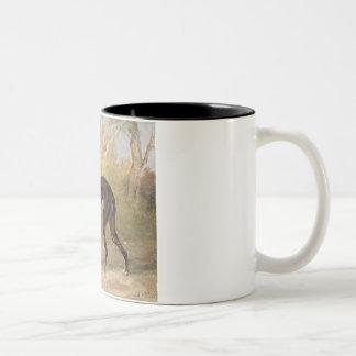 One of George Lane Fox s Winning Greyhounds the B Coffee Mug