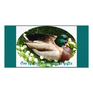 One of God's handmade gifts Zazzle Photo Card