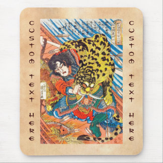 One of the 108 Heroes of the Popular Water Margin Mouse Pad