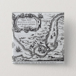 One of the earliest maps of the Magellan 15 Cm Square Badge