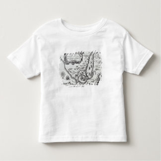 One of the earliest maps of the Magellan T-shirt