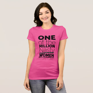 One Of The Million Nasty Women T-Shirt