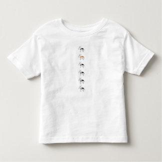 One orange cow t-shirt