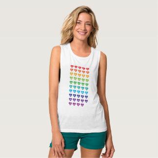 One Orlando One Pulse 49 Hearts Rainbow Tank Top