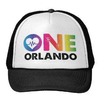 One Orlando One Pulse Rainbow Heart Cap