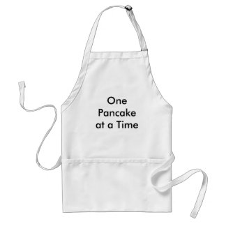 One Pancake at a Time Standard Apron