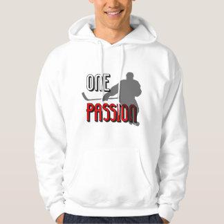 One passion hockey hoodie
