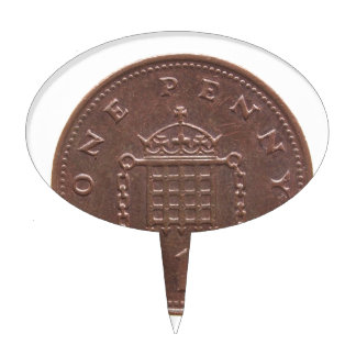 One Penny Cake Topper