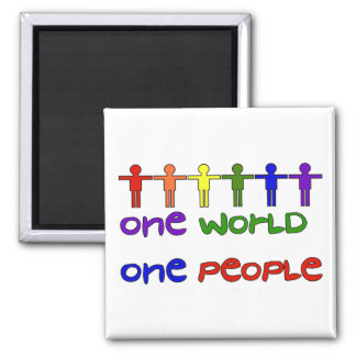 One People Square Magnet