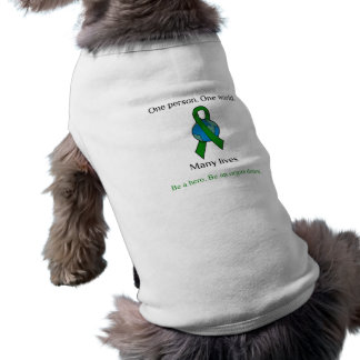 One Person Many Lives Pet T-shirt