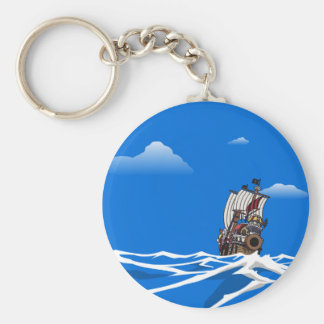One Piece - Sailing Key Ring