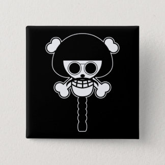 One Piece - Sengoku 15 Cm Square Badge
