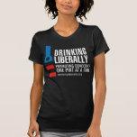 One Pint Women's Black T-Shirt