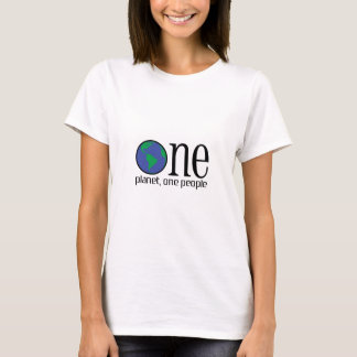 ONE PLANET ONE PEOPLE T-Shirt