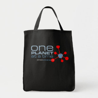 One Planet Tote Bag - Black