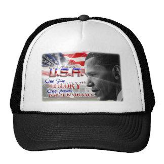 One President Barack Obama Hats