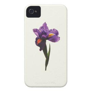 One Purple Iris Case-Mate iPhone 4 Case