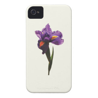 One Purple Iris Case-Mate iPhone 4 Case