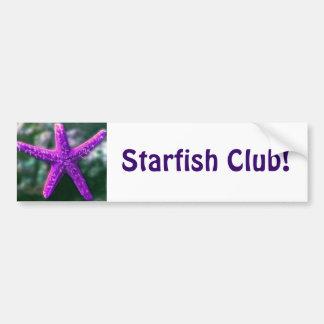 One Purple Starfish Bumper Sticker
