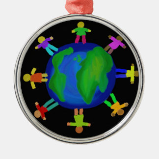 One Race - Anti Racism Christmas Ornament
