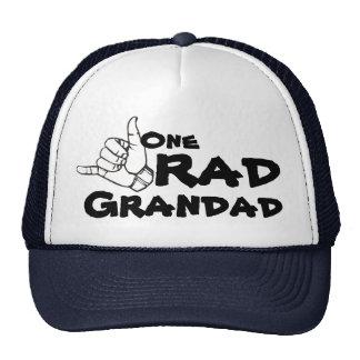 One RAD Grandad 80 s 90 s Trucker Hat for Grandpa